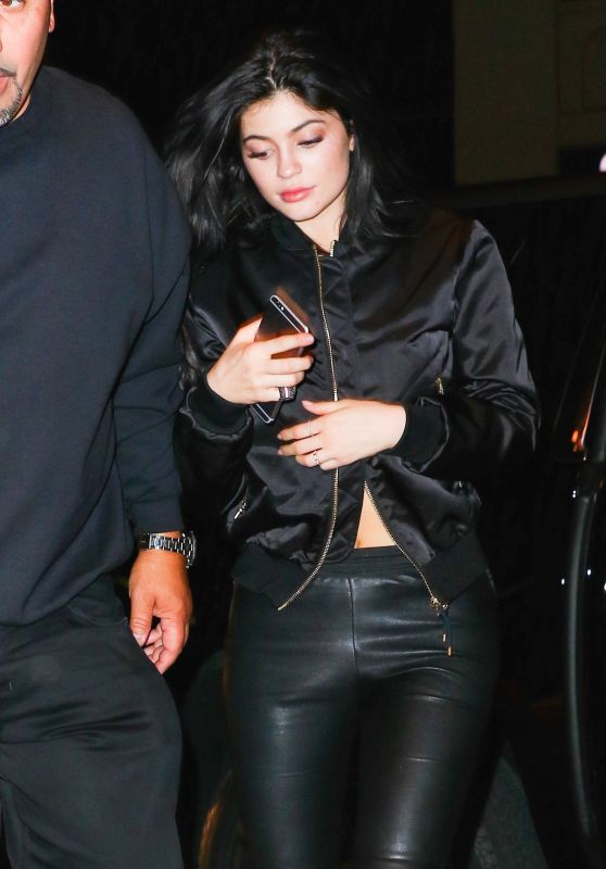 Kylie Jenner Night Out Style - NYC 4/30/2016
