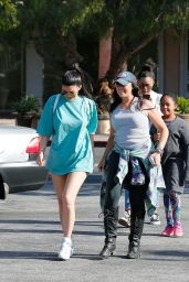 Kylie Jenner Street Style - at Bui Sushi in Malibu 5/27/2016
