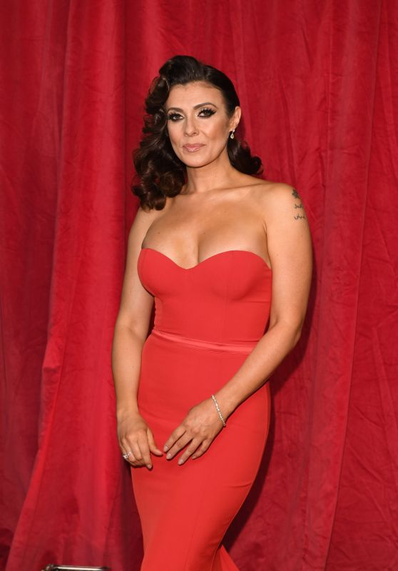 Kym Marsh - British Soap Awards 2016 in London, UK