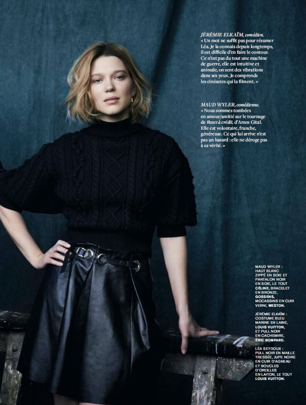 L 233 A Seydoux L Express Styles Magazine May 2016 Issue And