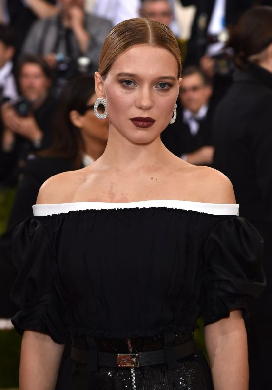 Léa Seydoux – Met Costume Institute Gala 2016 in New York