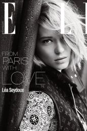 Léa Seydoux - Photoshoot for Elle Magazine UK June 2016