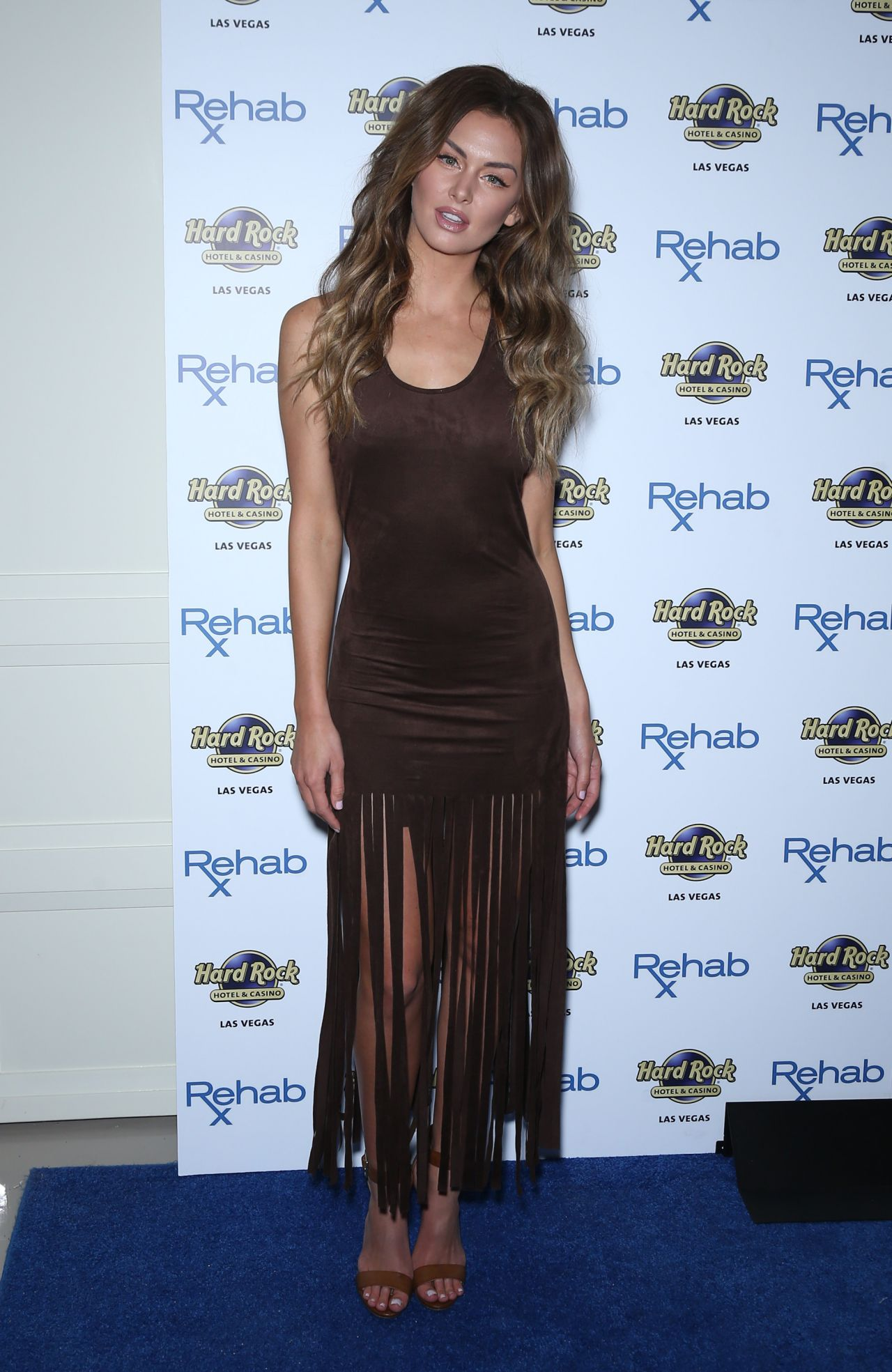 Lala Kent Rehab At The Hard Rock Hotel And Casino In Las