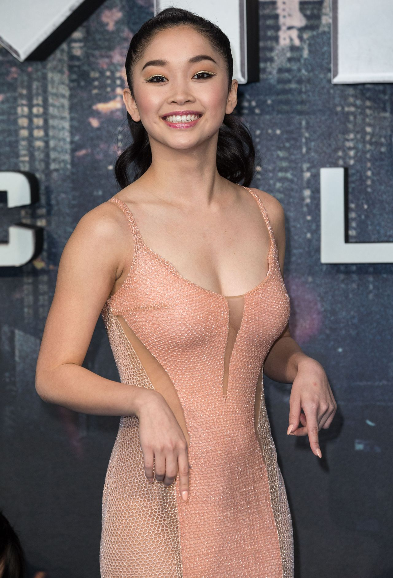 Lana Condor  X-Men Apocalypse Premiere In London, Uk 592016-5688