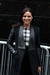 Lana Parrilla Arrives for an Appearance on