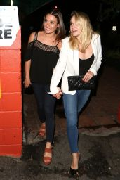 Lea Michele - Out for Dinner in Los Angeles 5/28/2016