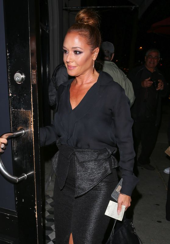 Leah Remini - Arriving at Craig