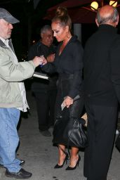 Leah Remini & Cheryl Burke - Arriving at Craig