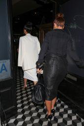 Leah Remini & Cheryl Burke - Arriving at Craig