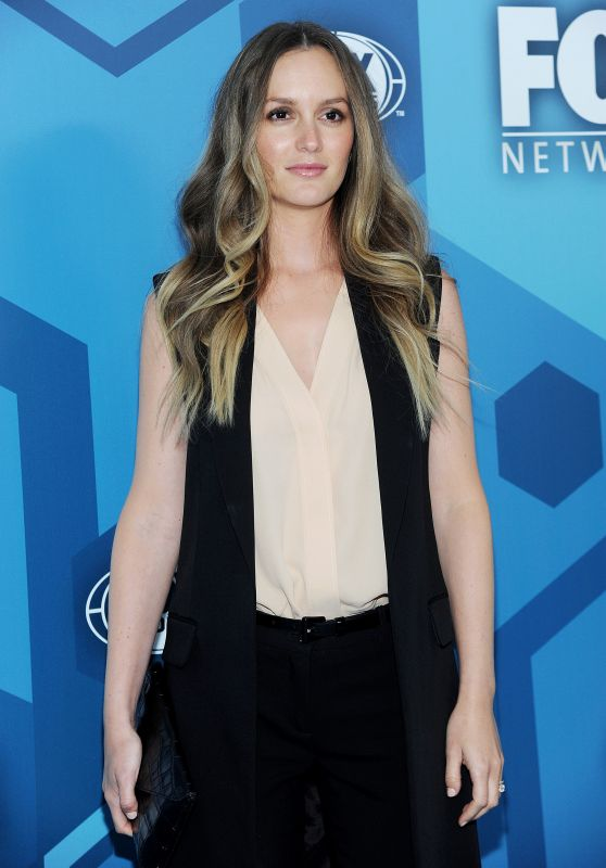 Leighton Meester – Fox Network 2016 Upfront Presentation in New York City