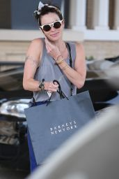 Lena Headey - Shopping  at Barney