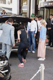 Lena Meyer-Landrut - Hotel Martinez in Cannes, May 2016