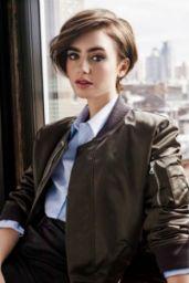 Lily Collins - Cosmopolitan Magazine Hungary June 2016 Photos