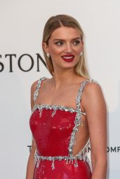 Lily Donaldson – amfAR's Cinema Against AIDS Gala in Cap d'Antibes, France, 5/19/2016
