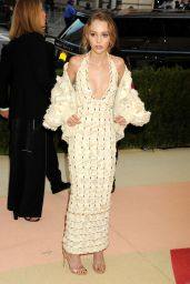 Lily-Rose Depp – Met Costume Institute Gala 2016 in New York