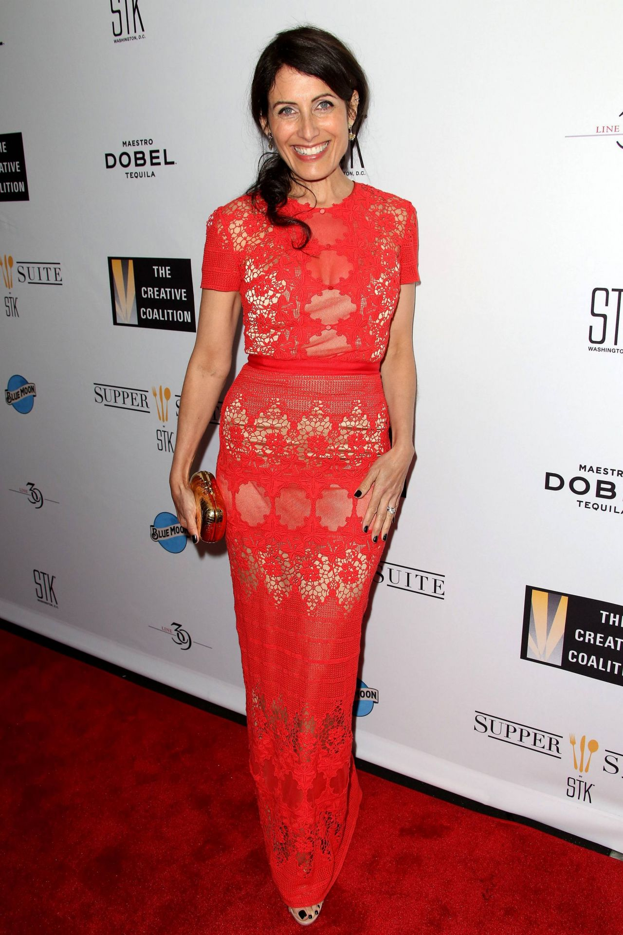 Lisa Edelstein Creative Coalition S Celebration Of Arts