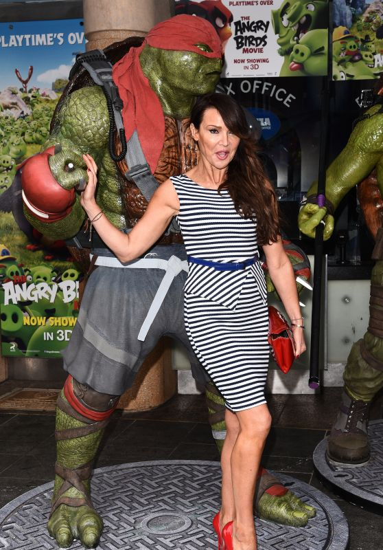 Lizzie Cundy – Teenage Mutant Ninja Turtles VIP Screening in London 5/29/2016