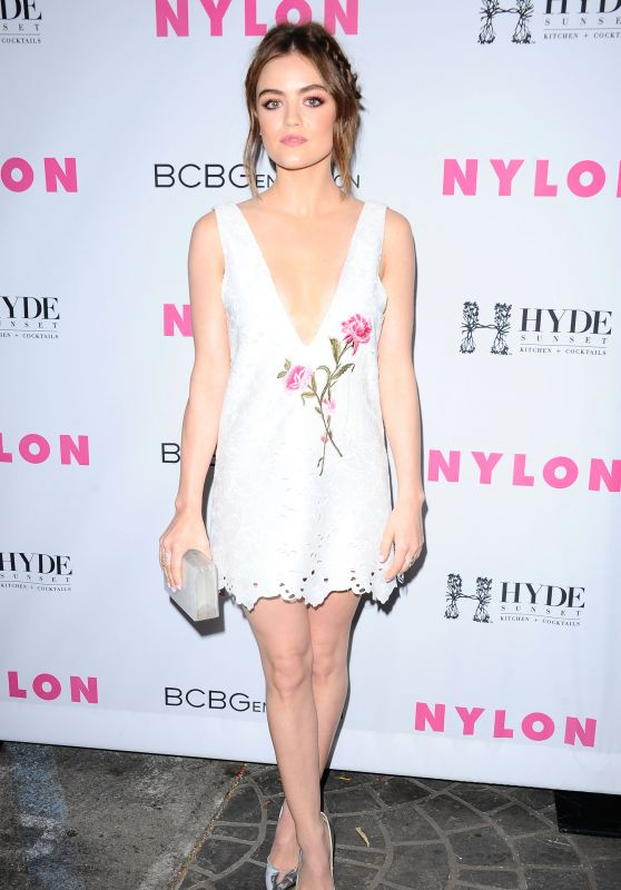 Lucy Hale – NYLON And BCBGeneration's Annual Young Hollywood May Issue Event in Hollywood 5/12/2016