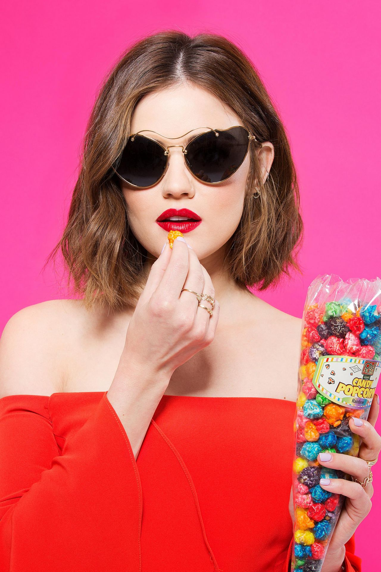 Lucy Hale Photoshoot For Cosmopolitan May 2016