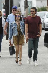 Lucy Hale With Her Family in Los Angeles 5/28/2016