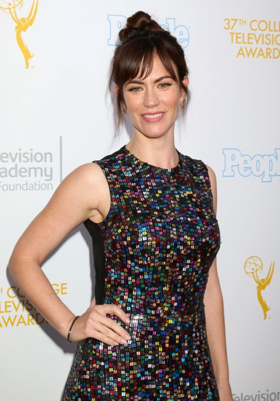 Maggie Siff – College Television Awards in Los Angeles 5/25/2016