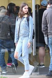 Maia Mitchell in Ripped Jeans - Out in West Hollywood 5/25/2016