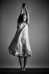 Maika Monroe - B&W Photoshoot 2016