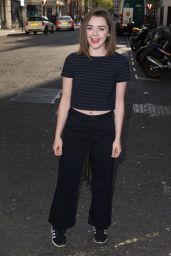 Maisie Williams - BBC Radio 1 Studios in London, UK 5/5/2016