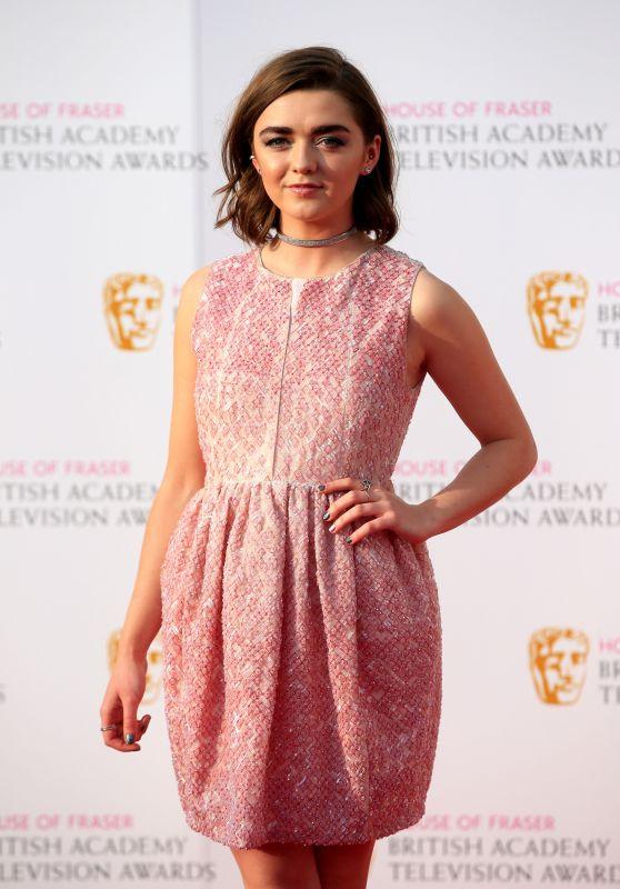 Maisie Williams – British Academy Television Awards BAFTAS 2016 in London