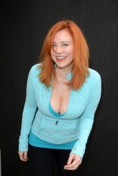 Maitland Ward Gets Her Hair Done - Beverly Hills 5/23/2016