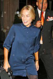 Margot Robbie - Leaving Hotel in New York City 5/1/2016