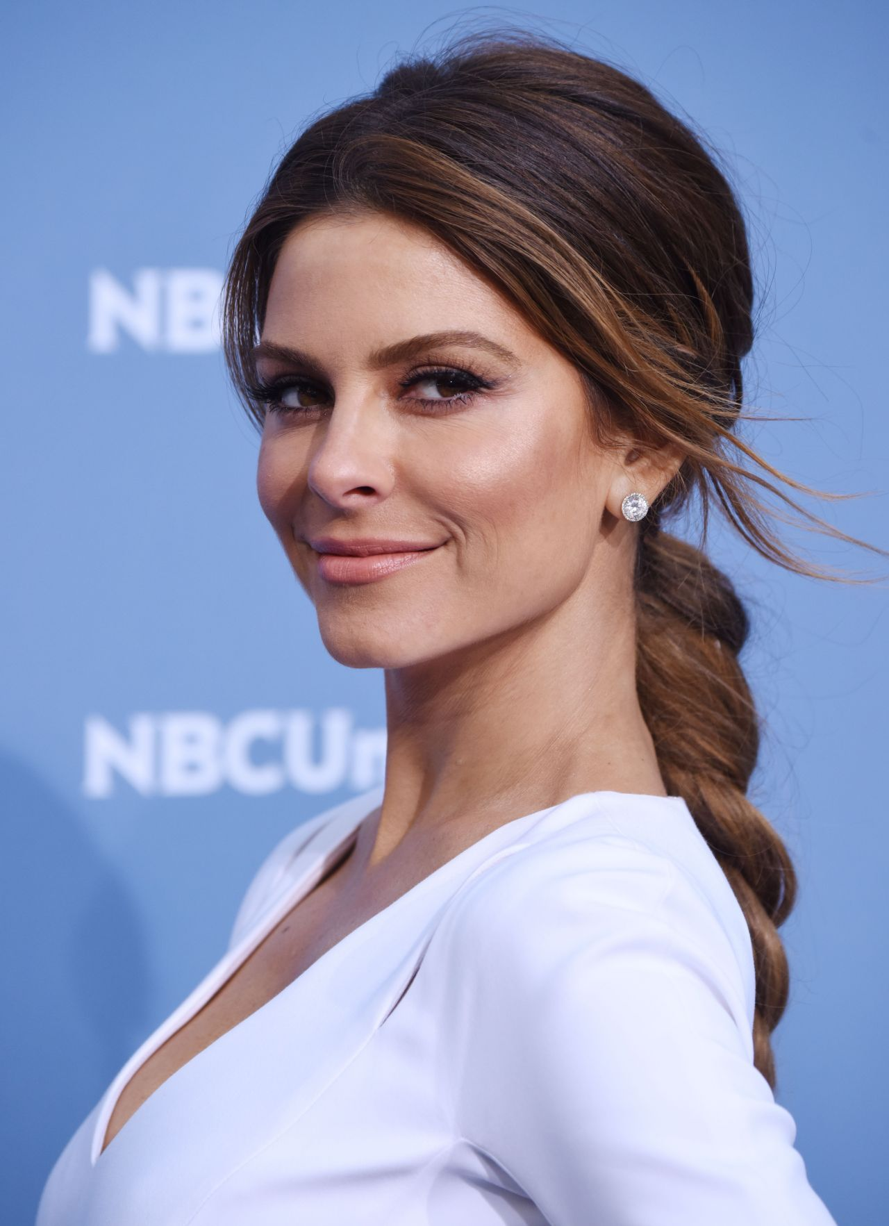 Maria Menounos Nbcuniversal Upfront Presentation In New