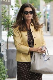 Maria Shriver Office Chic Outfit - New York Bagels in Brentwood 5/6/2016