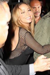 Mariah Carey at Berri