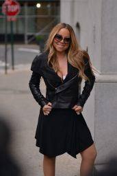 Mariah Carey Chic Outfit - Out in NYC, May 2016