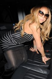 Mariah Carey - Leaves Claridges Hotel in London 5/19/2016