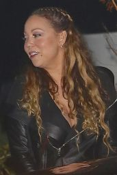 Mariah Carey Night Out Style - Leaving Nobu in Malibu 5/20/2016