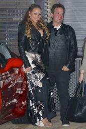 Mariah Carey Night Out Style - Leaving Nobu in Malibu 5/20/2016