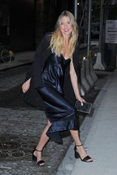 Martha Hunt Style - Leaving Spring Studios After a Photoshoot in NYC 5/24/2016