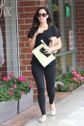 Megan Fox in Tights - Out in Los Angeles 5/13/2016
