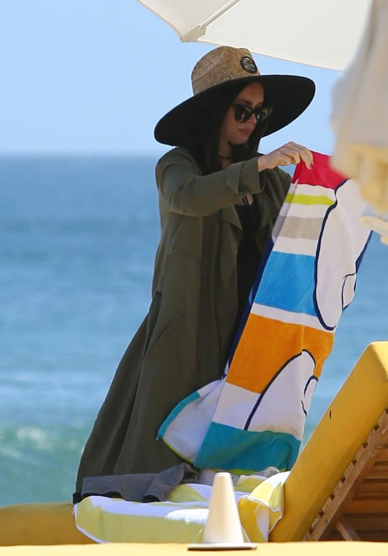 Megan Fox - Spending Time in Malibu 4/30/2016