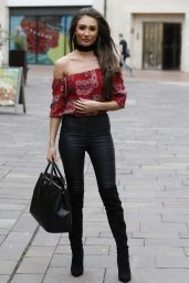 Megan McKenna Chic Outfit - Street Candids, April 2016