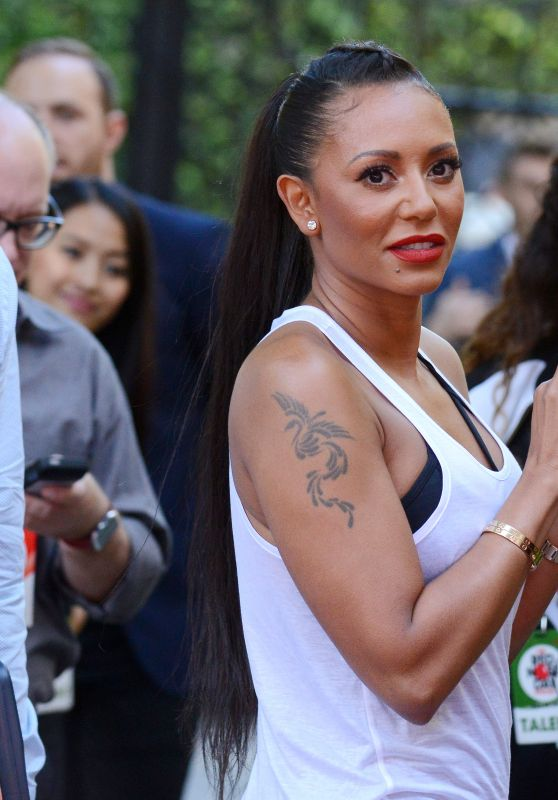 Melanie Brown – NBC's Red Nose Day Special in Los Angeles 5/26/2016