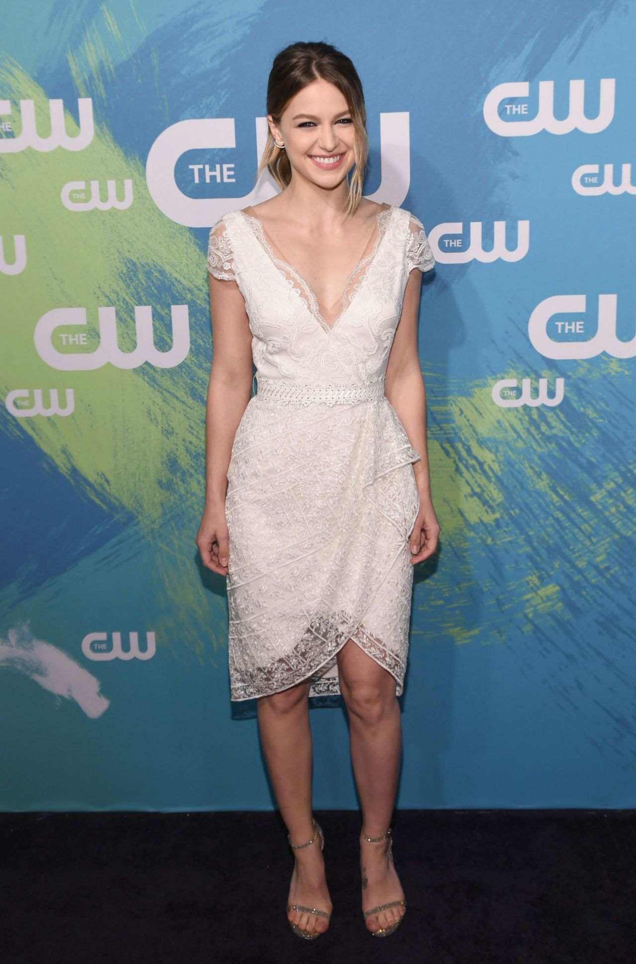 Melissa Benoist The CW Upfronts Presentation 2016 In New