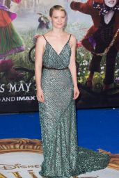 Mia Wasikowska  – 'Alice Through The Looking Glass' Premiere at Odeon Leicester Square in London