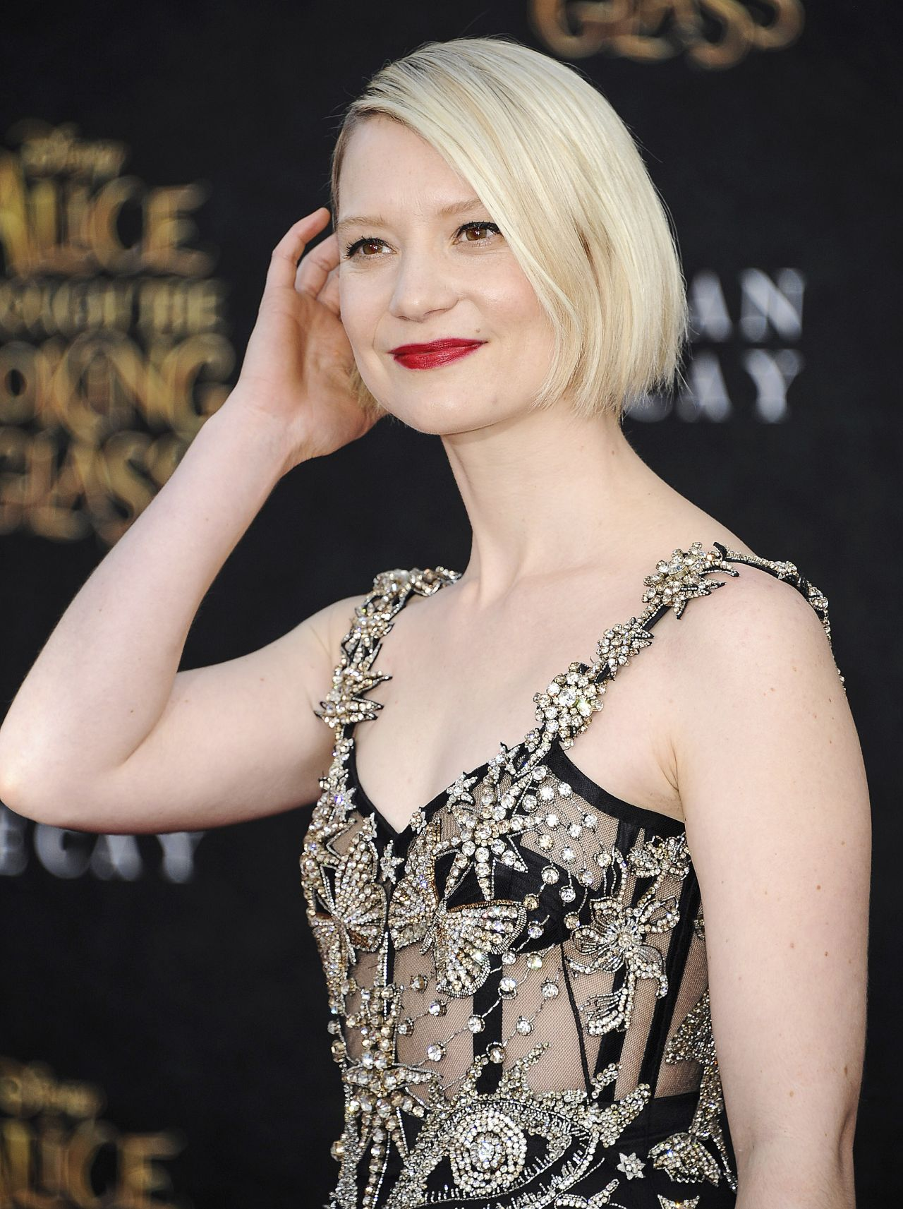 Mia Wasikowska - 'Alice Through The Looking Glass ...