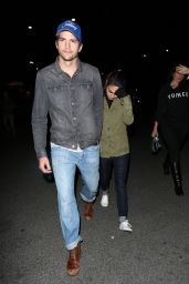 Mila Kunis and Ashton Kutcher at the Rose Bowl in Pasadena 5/14/2016