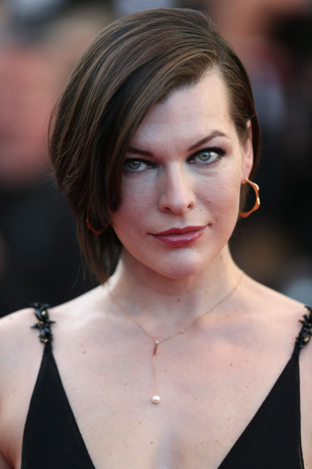 Milla Jovovich - 'The Last Face' Premeire at 69 Cannes ... Milla Jovovich