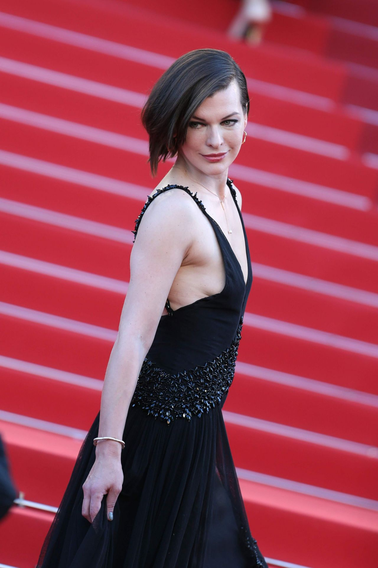 Milla Jovovich - 'The Last Face' Premeire at 69 Cannes ... Milla Jovovich