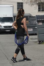 Minka Kelly - Working Out in Beverly Hills, May 2016